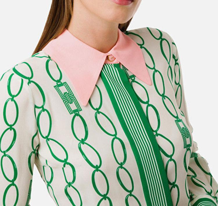 Immagine di Camicia stampa catena Elisabetta Franchi