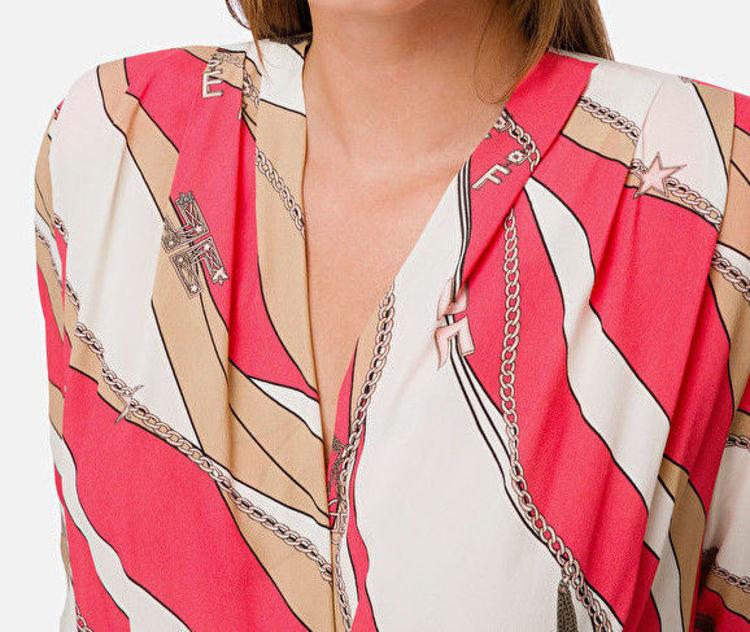Immagine di Camicia a body stampa foulard Elisabetta Franchi (SOLD OUT)