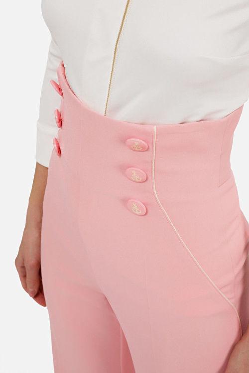 Immagine di Pantalone a vita alta Elisabetta Franchi (SOLD OUT)