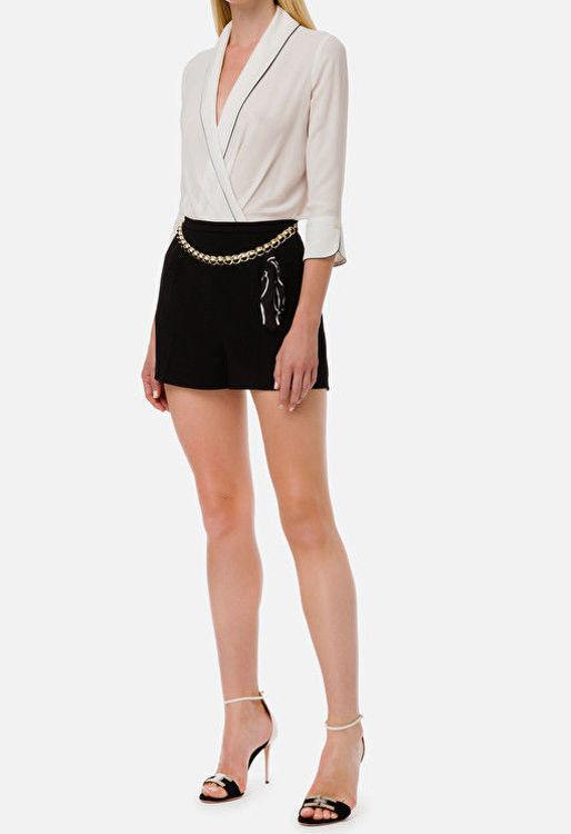 Immagine di Shorts con cintura Elisabetta Franchi (SOLD OUT)