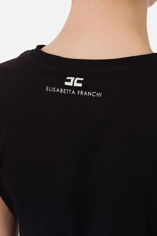 Immagine di T-shirt con nodo Elisabetta Franchi (SOLD OUT)