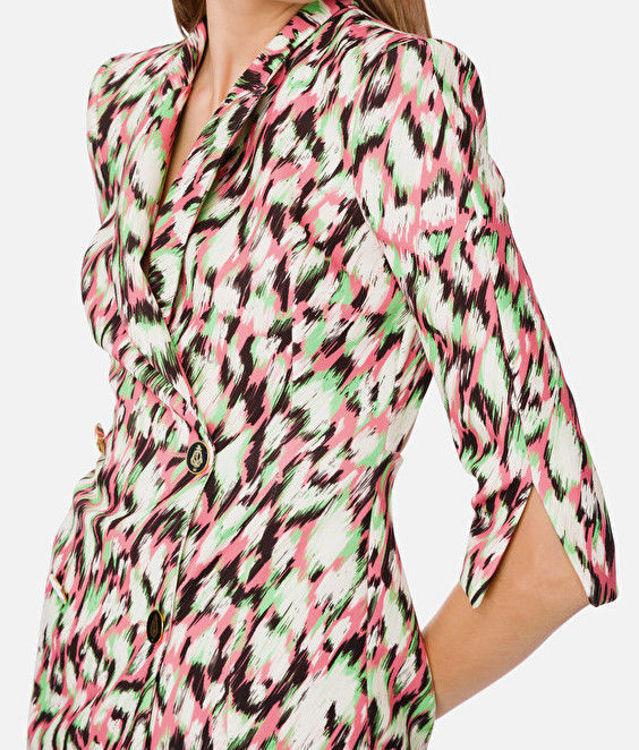 Immagine di Mini abito doppiopetto maculato Elisabetta Franchi (SOLD OUT)