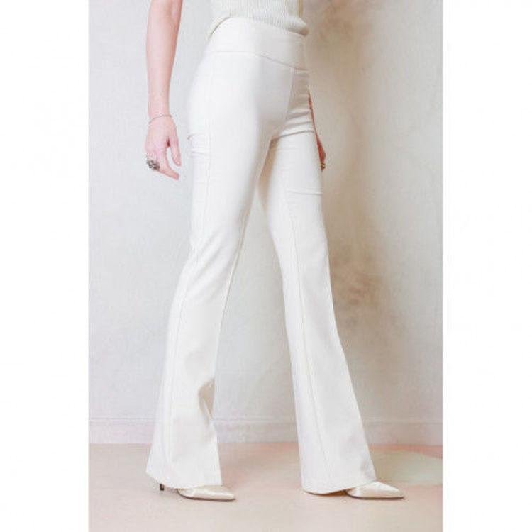 Immagine di Pantalone in tessuto tecnico a vita alta Sandro Ferrone