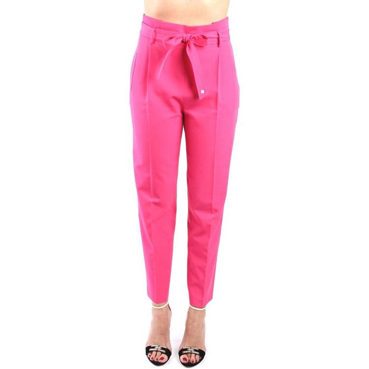 Immagine di Pantalone vita alta con cintura Kocca