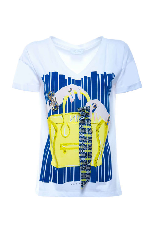 Immagine di T-SHIRT stampa borsa Nenette (SOLD OUT)