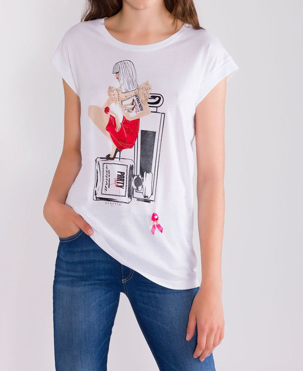Immagine di T-SHIRT stampa party night  Nenette (SOLD OUT)