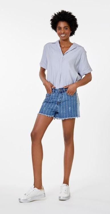 Immagine di Shorts in denim con strass Koralline