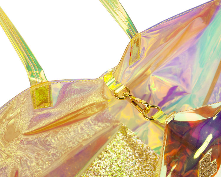Immagine di Borsa Mare con Pochette Gold Valentina Giorgi
