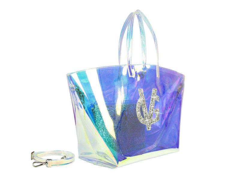 Immagine di Borsa Mare con Pochette Silver Valentina Giorgi