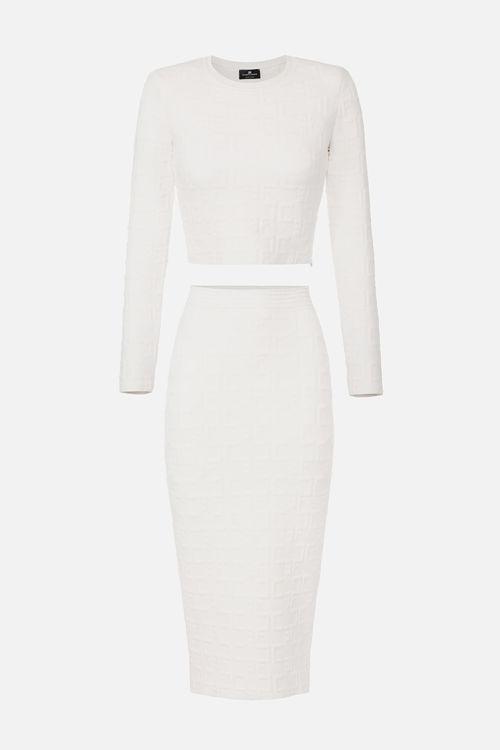 Immagine di Completo in maglia a manica lunga Elisabetta Franchi