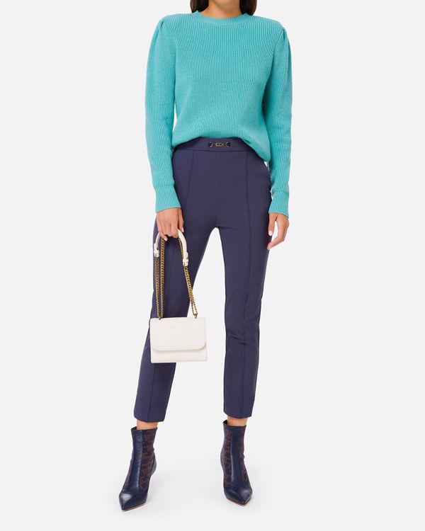Immagine di Pantalone skinny con accessorio Elisabetta Franchi