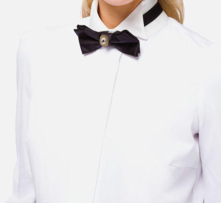 Immagine di Camicia smoking con papillon Elisabetta Franchi (ESAURITO)