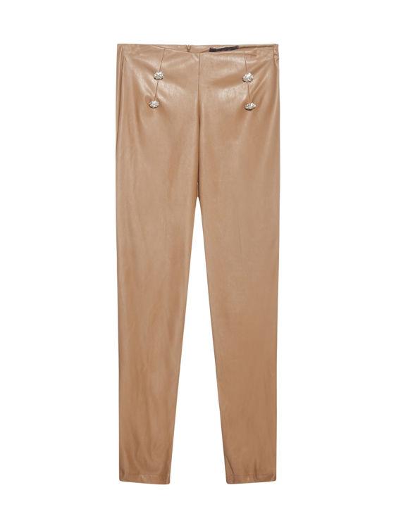 Immagine di Pantaloni con bottoni gioiello Giulia N