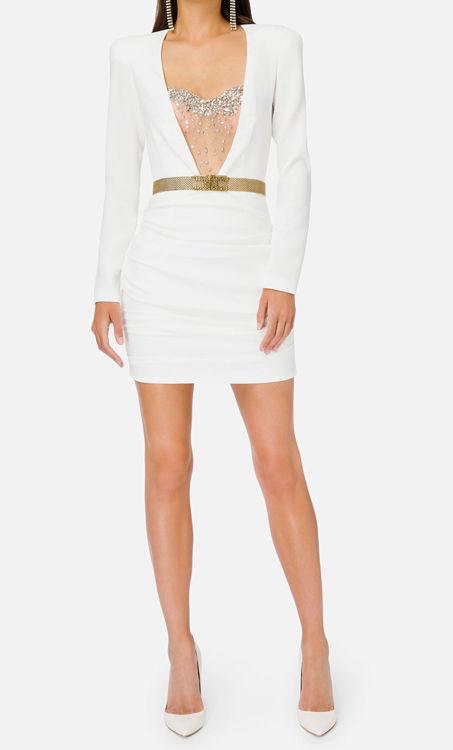 Immagine di Mini abito con bustier in strass Elisabetta Franchi