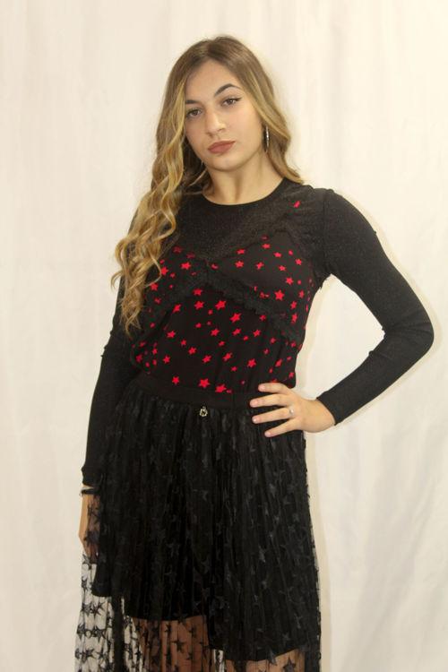 Immagine di Top lingerie con maglia in lurex Koralline