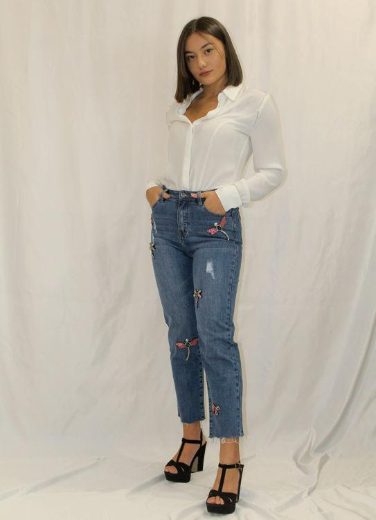 Immagine di Jeans con patch Koralline