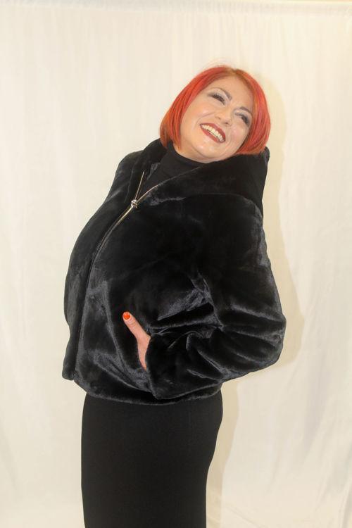Immagine di Cappotto con cappuccio Censured