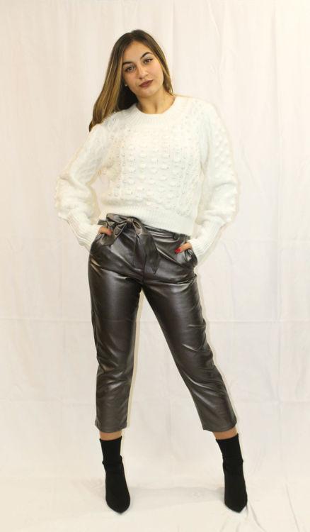 Immagine di Pantalone vita alta  a sacchetto Silvian Heach