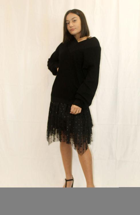 Immagine di Vestito in felpa con tulle Silvian Heach