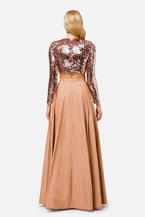 Immagine di Completo elegante in paillettes Elisabetta Franchi