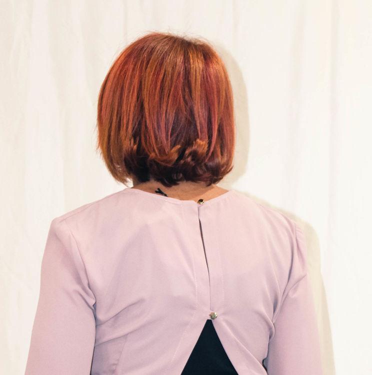 Immagine di Camicia con nodo davanti Chiara Ventura