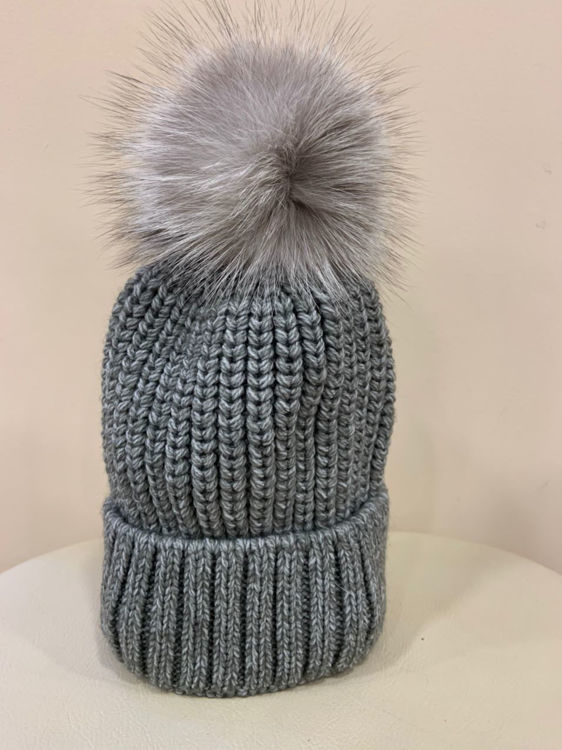 Immagine di Cappello pon pon in volpe Un Furtive
