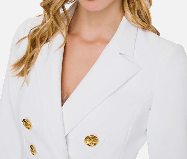 Immagine di Giacca corta con bottoni oro light  Elisabetta Franchi (ESAURITO)