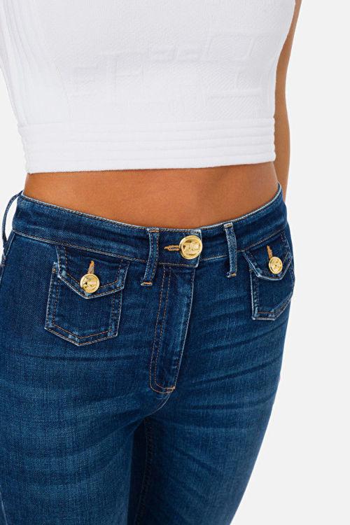 Immagine di Jeans mini flare Elisabetta Franchi