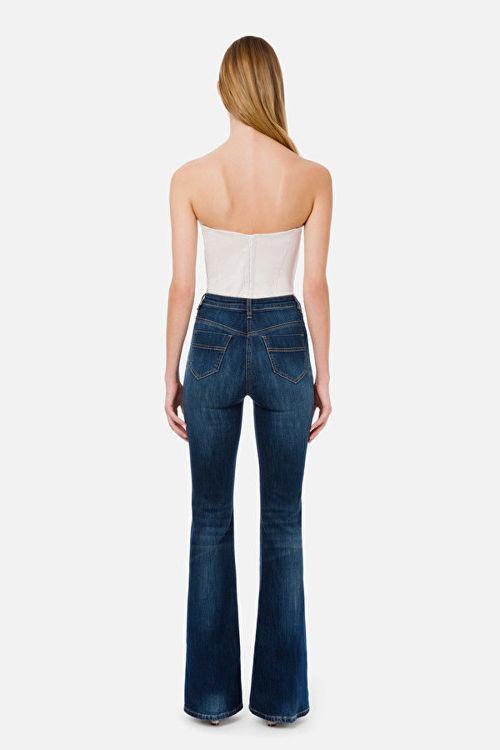 Immagine di Jeans a zampa Elisabetta Franchi
