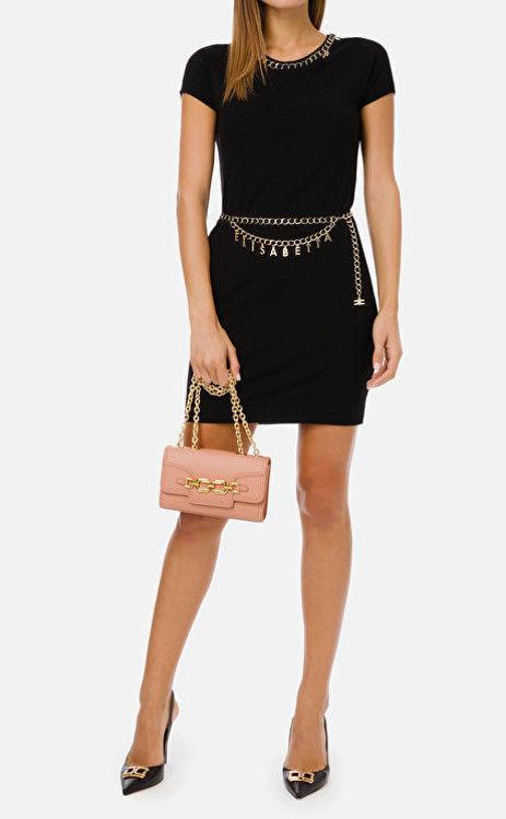 Immagine di Mini dress con cintura e charms Elisabetta Franchi