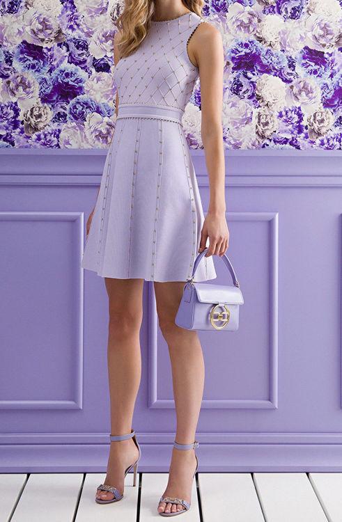 Immagine di Mini abito con borchiette Elisabetta Franchi