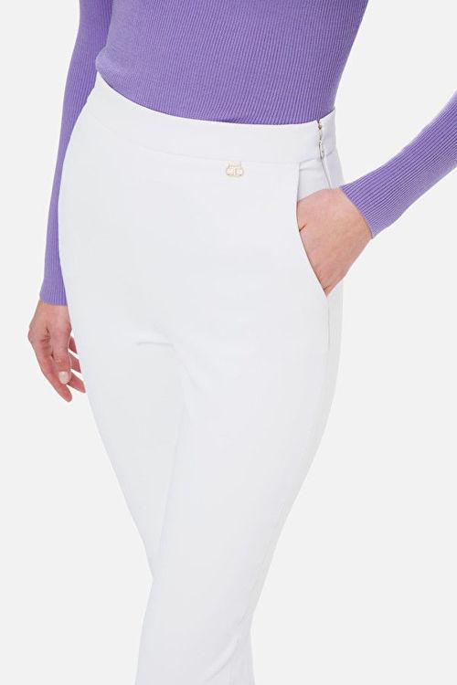 Immagine di Pantalone doppio crêpe skinny Elisabetta Franchi