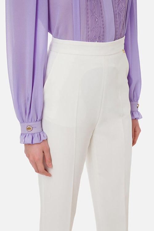 Immagine di Pantalone essential, in tessuto bielastico Elisabetta Franchi