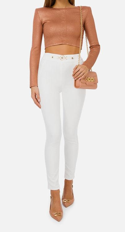 Immagine di Pantalone modello jeans Elisabetta Franchi