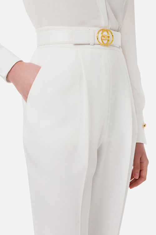 Immagine di Pantalone skinny con cintura Elisabetta Franchi
