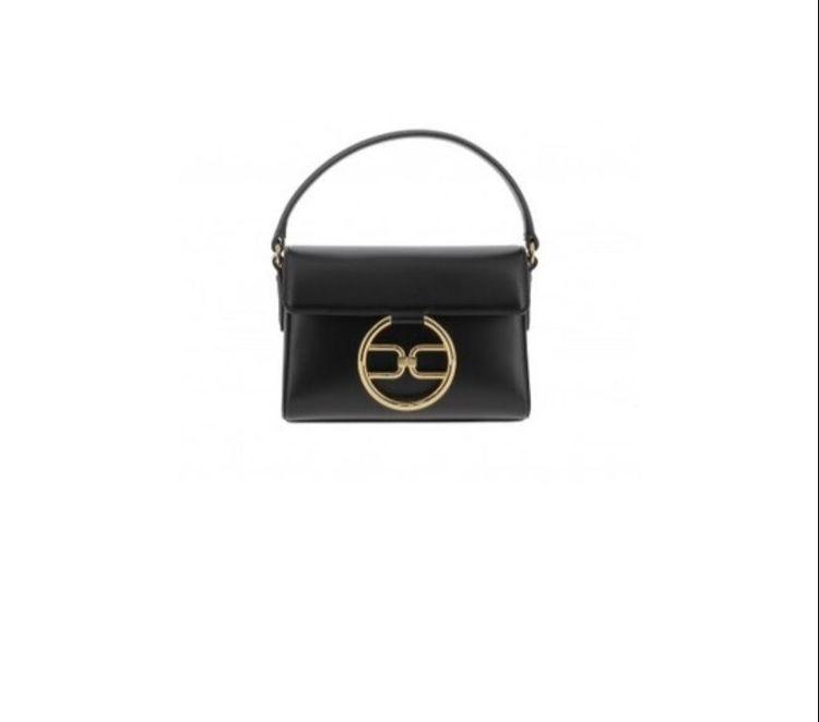 Immagine di Micro bag con logo dorato Elisabetta Franchi