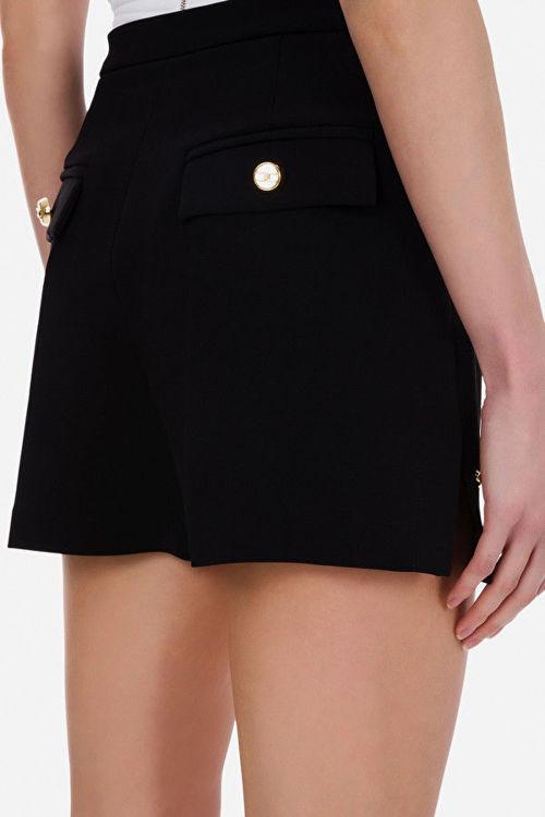 Immagine di Shorts a vita alta con spacchi laterali Elisabetta Franchi