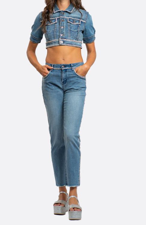 Immagine di Jeans conn profili strass NoSecrets