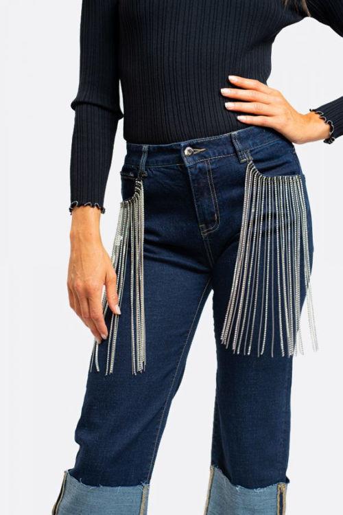 Immagine di Jeans frange brillanti NoSecrets (ESAURITO)