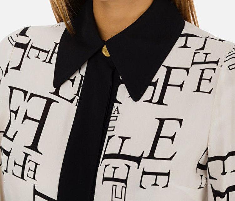 Immagine di Camicia stampa lettering Elisabetta Franchi