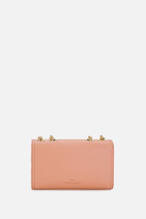 Immagine di Borsa piccola con moschettoni e morsetto dorati Elisabetta Franchi