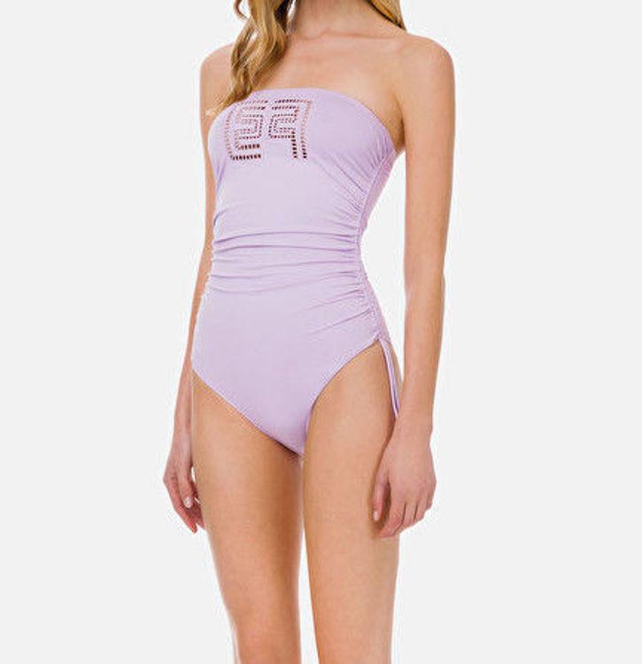 Immagine di  Bikini intero a fascia con ricamo ajour  Elisabetta Franchi