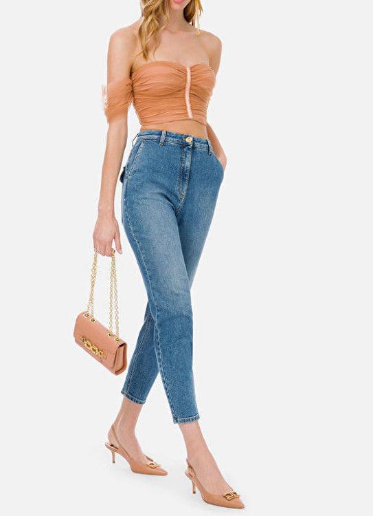 Immagine di Jeans con ricamo sul retro Elisabetta Franchi