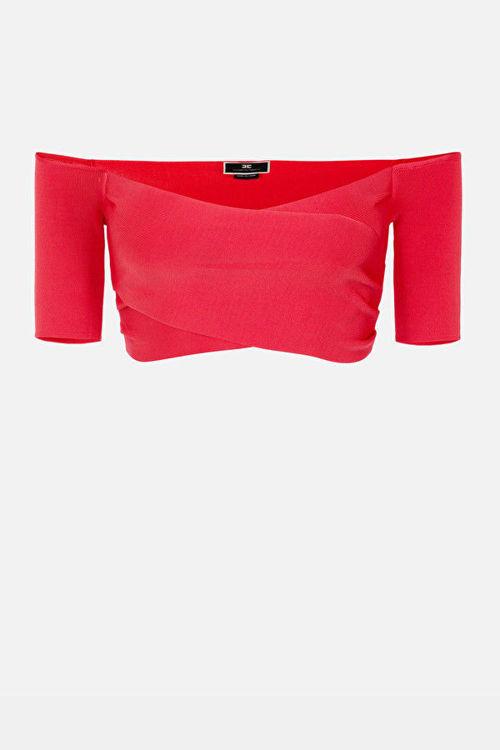 Immagine di Micro top in maglia Elisabetta Franchi