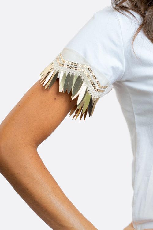 Immagine di T-shirt maniche con pendenti  NoSecrets