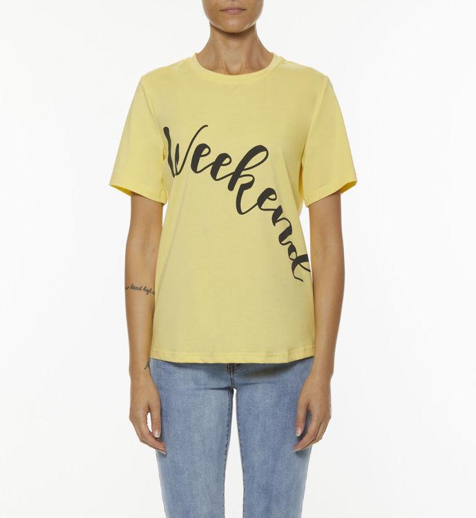 Immagine di T-shirt con stampa week-end  Koralline