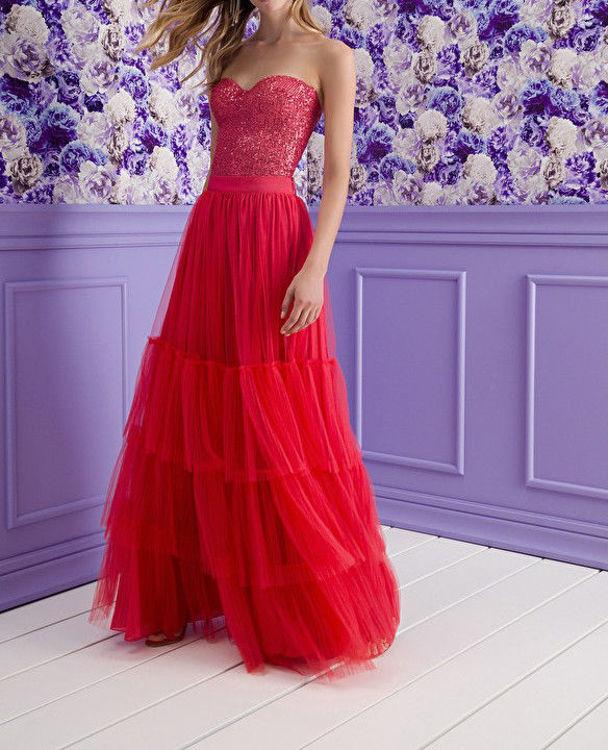 Immagine di Completo gonna e top Red Carpet Elisabetta Franchi