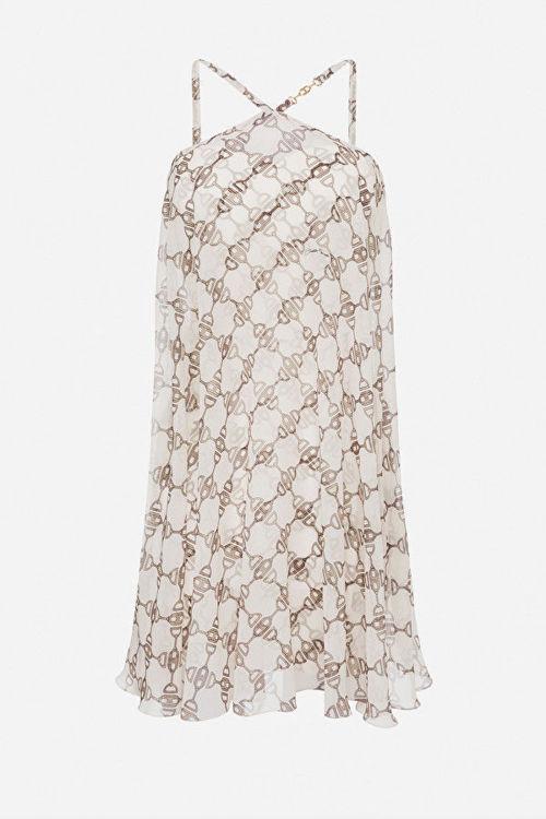 Immagine di Mini dress stampa morsetto Elisabetta Franchi