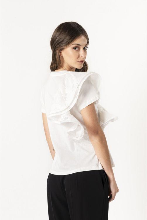 Immagine di T-shirt lace Sandro Ferrone