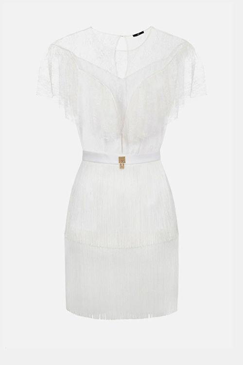 Immagine di Mini dress trasparente in pizzo Elisabetta Franchi (ESAURITO)
